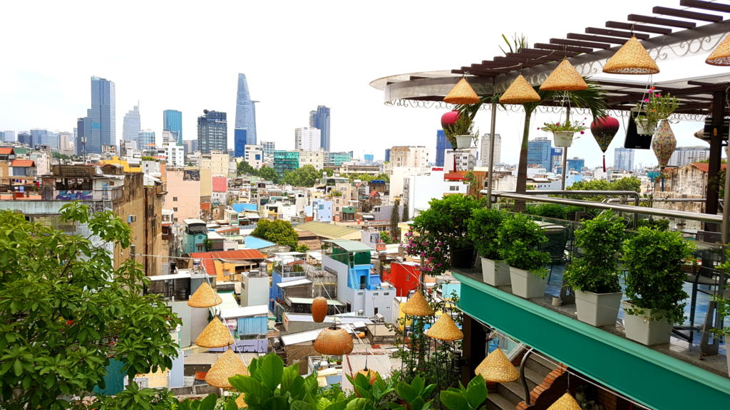 le meilleur roof top de ho chi minh city