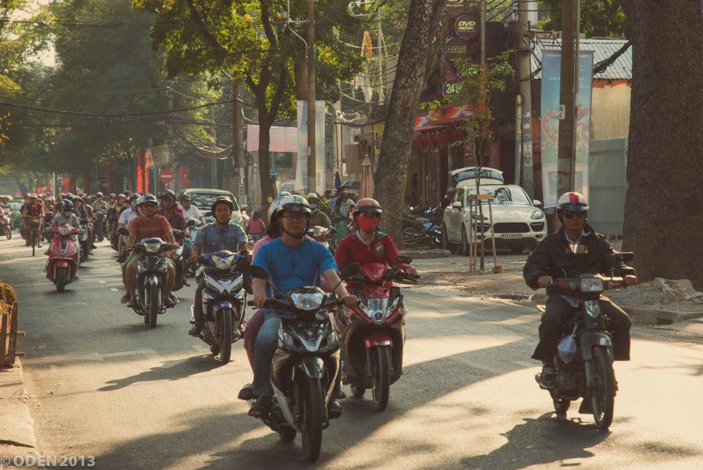 les scooter au vietnam