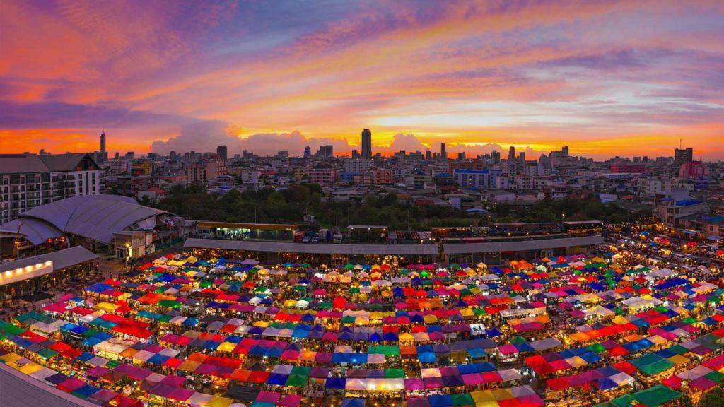 ratchada market à bangkok