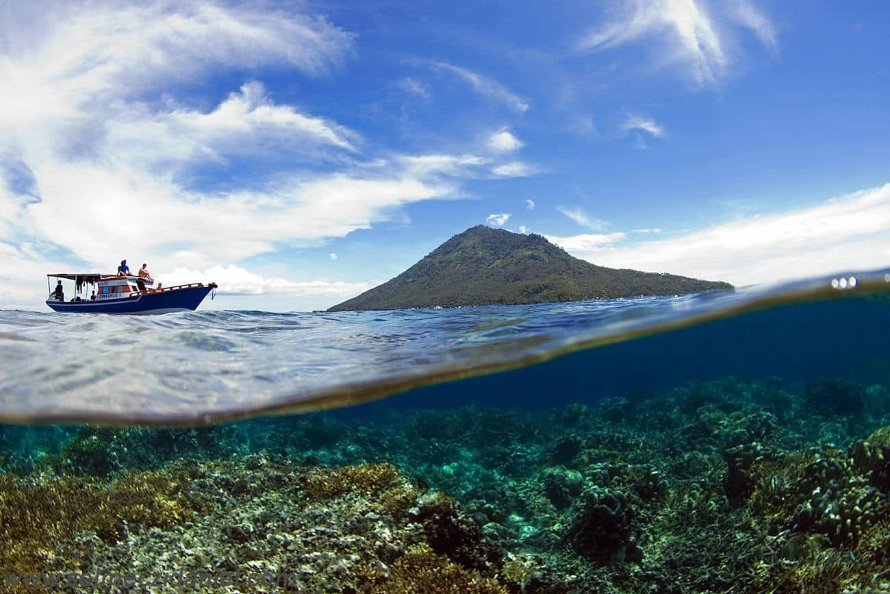 bunaken Manado en Indonésie pendant mon voyage autour du monde