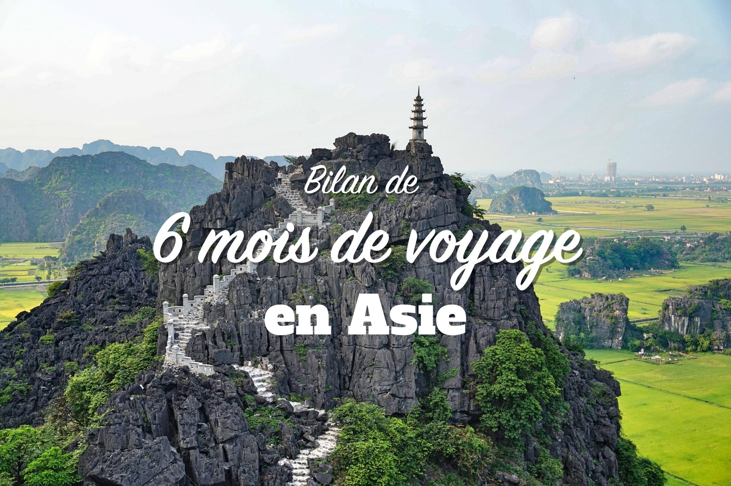 bilan voyage en asie du sud est