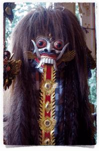 masque indonésien à Bali