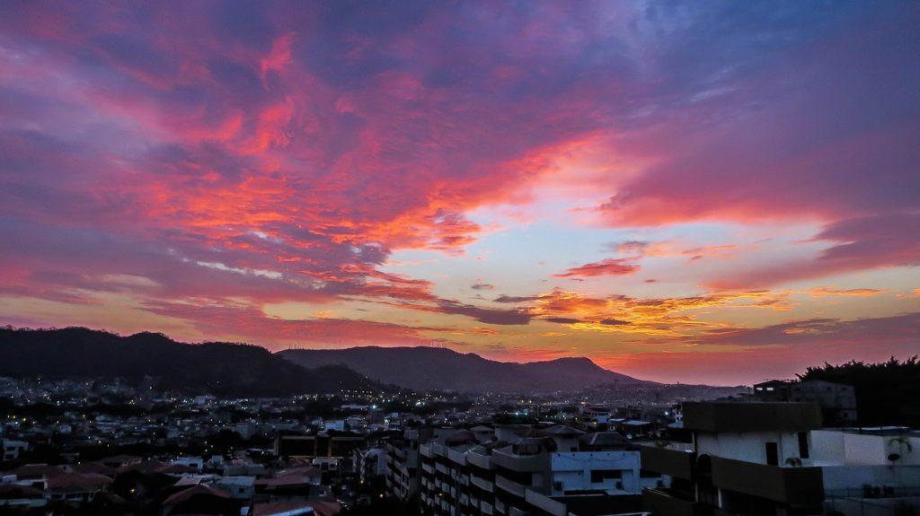 les vols en voyage en Equateur lors de mon tour du monde en solitaire