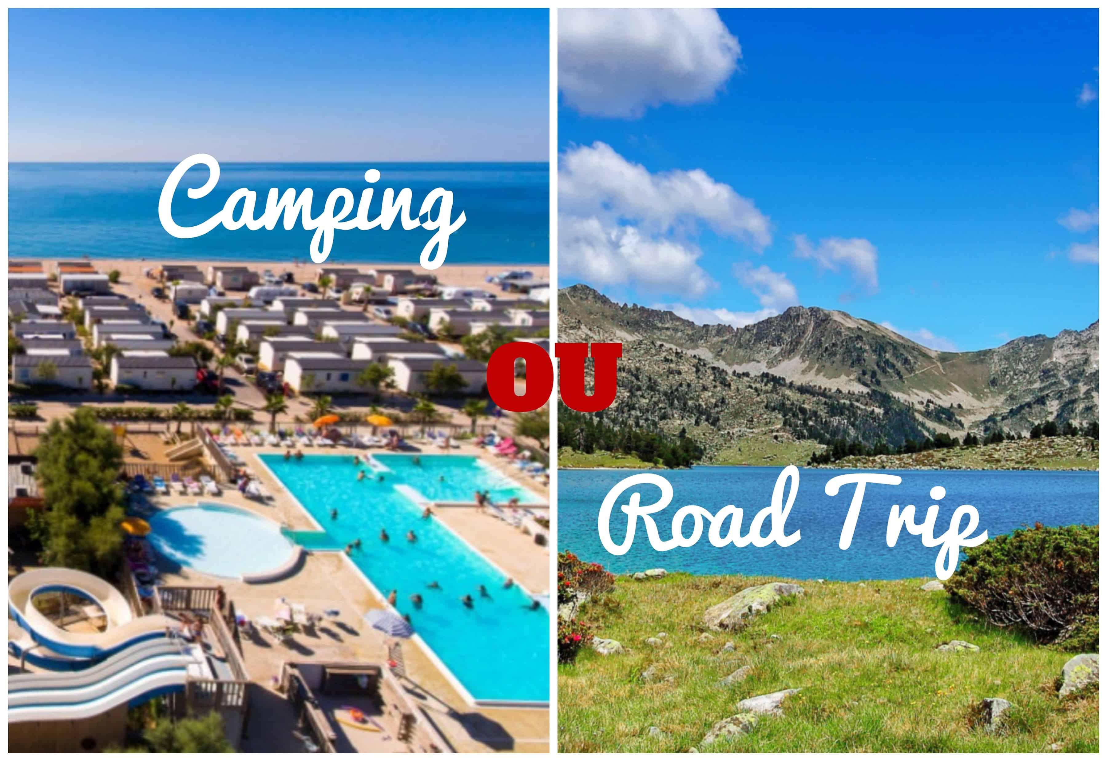 camping en France ou road trip