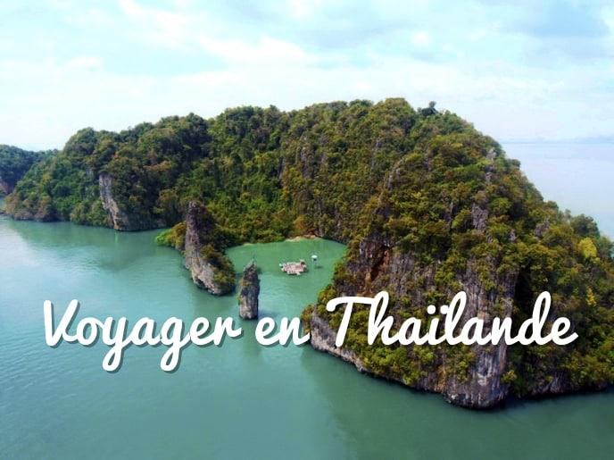 Voyager en Thailande, baie de Phang nga