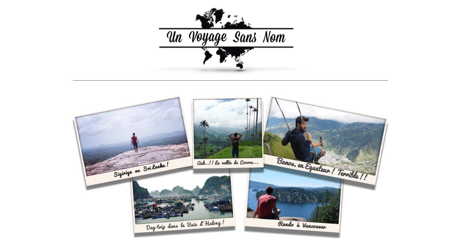 Blog voyage d'un tour du monde