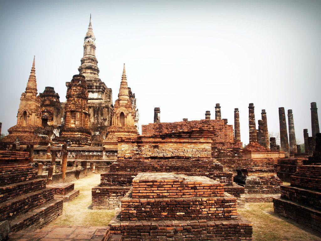 sukhothai, en thaïlande