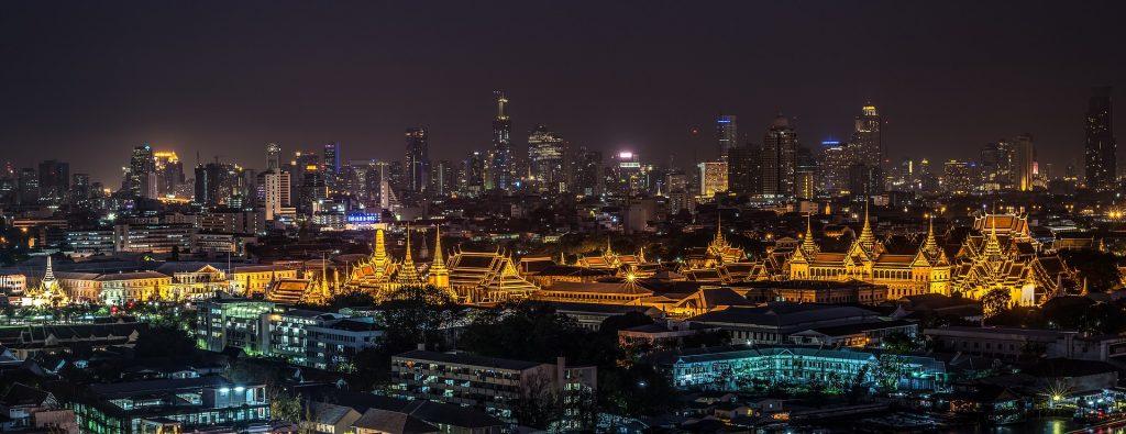 grand palace à Bangkok, voyager en Thaïlande
