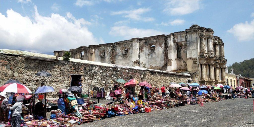 découverte d'Antigua guatemala