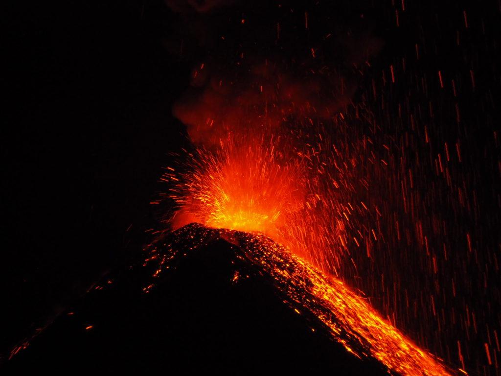 voyage au guatemala au volcan fuego