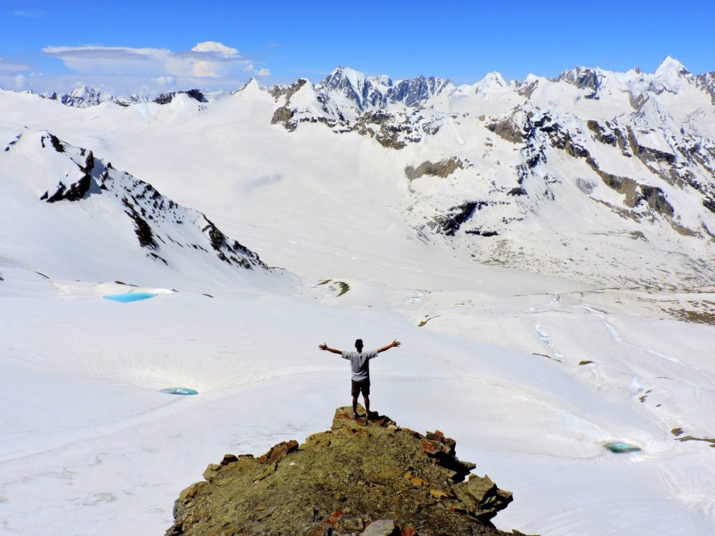 Summit of the pass at 5350m