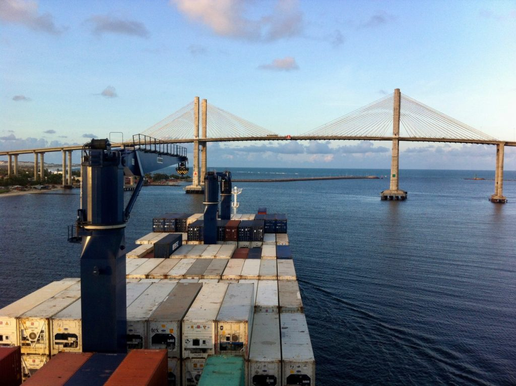 traversée de l'Atlantique en cargo