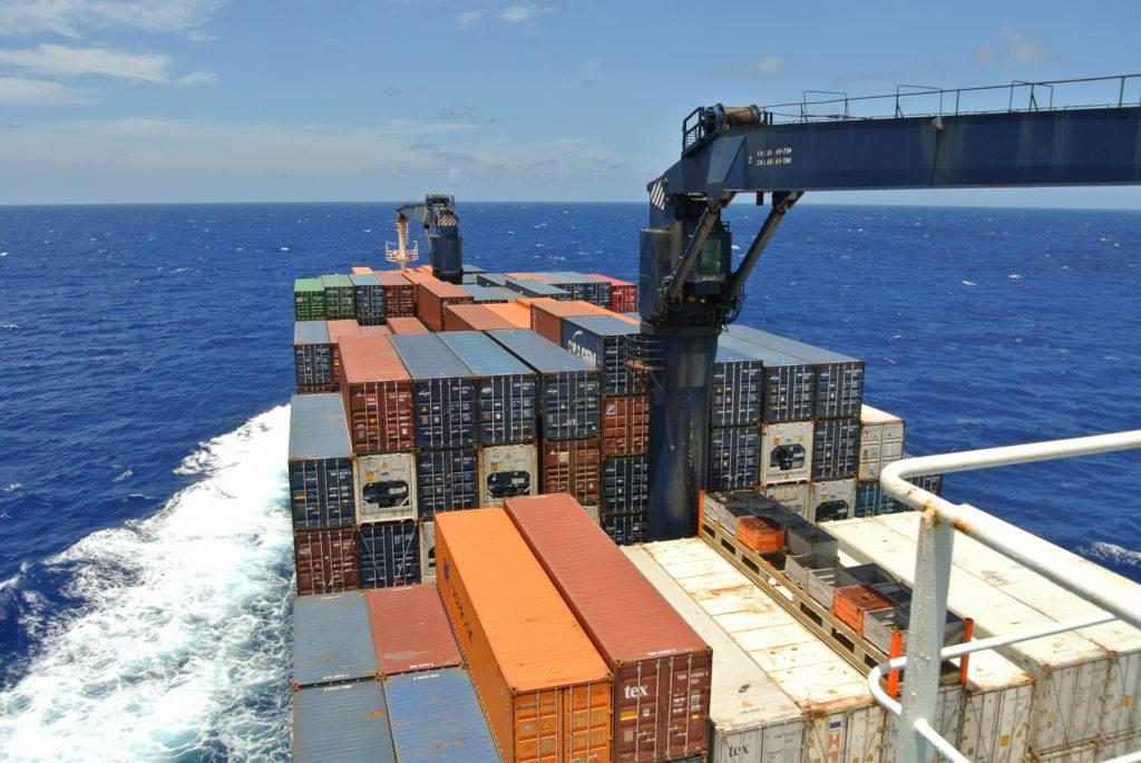 traverser l'Atlantique en cargo