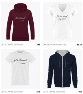 la boutique en ligne UVSN