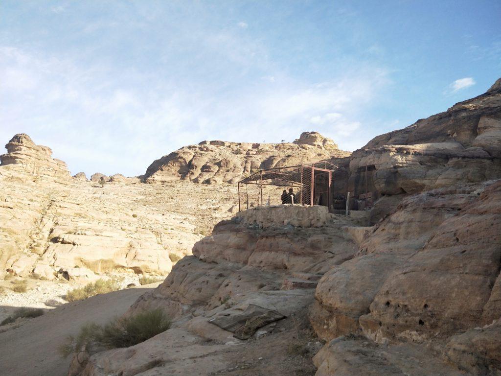 la grotte de la famille de Mohamed