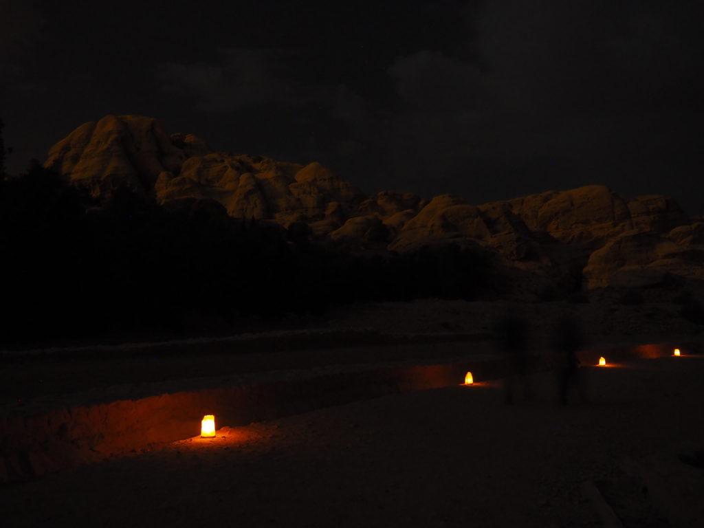 voyager à Petra en jordanie