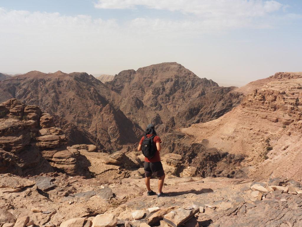 moi à Petra en Jordanie