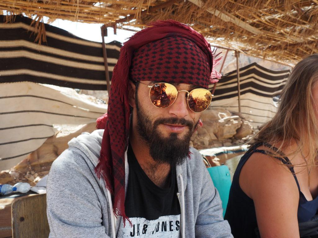 photo de Mohamed à Pétra