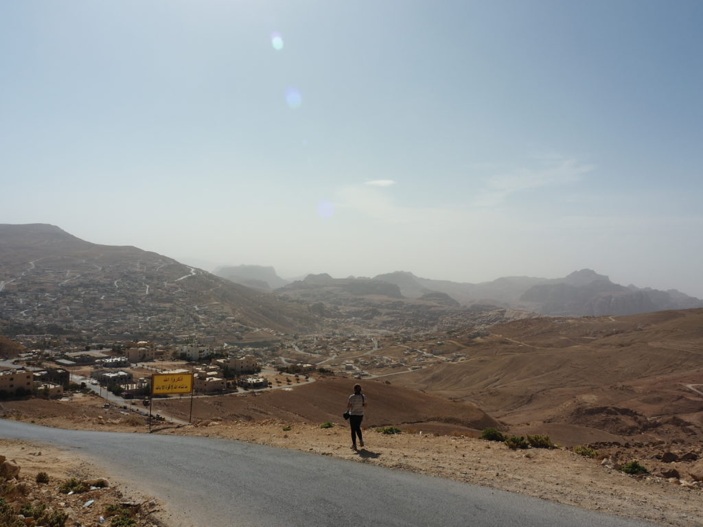 la nouvelle ville de pétra Jordanie
