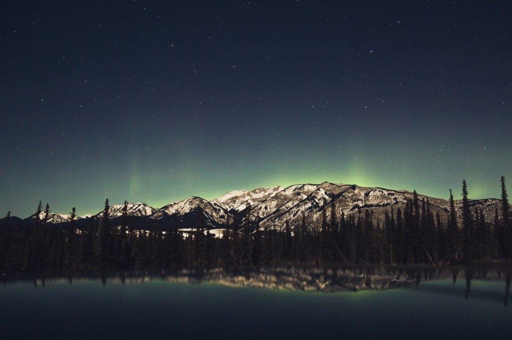 aurore boréale au canada