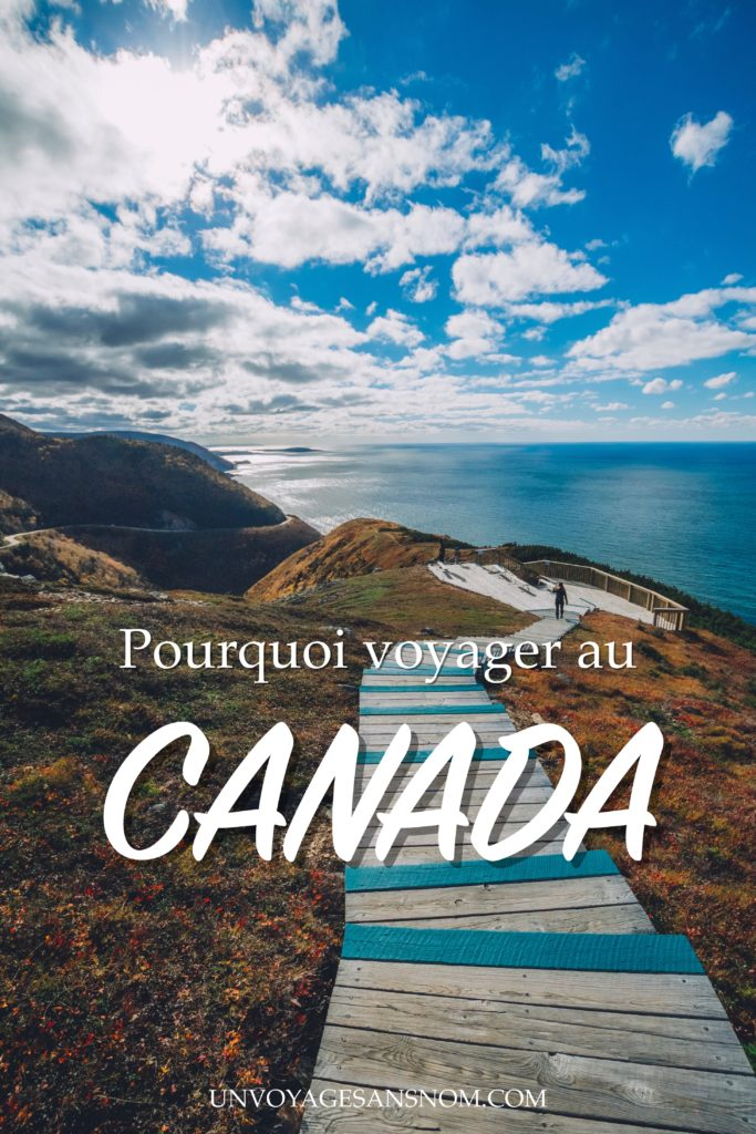 pourquoi voyager au canada