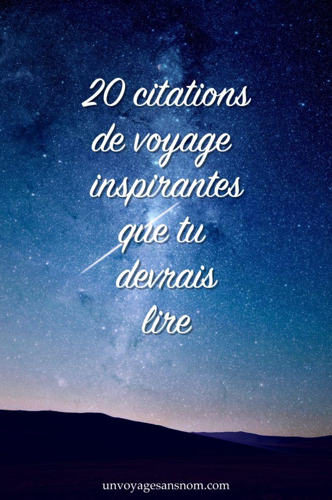 citations voyage les plus inspirantes