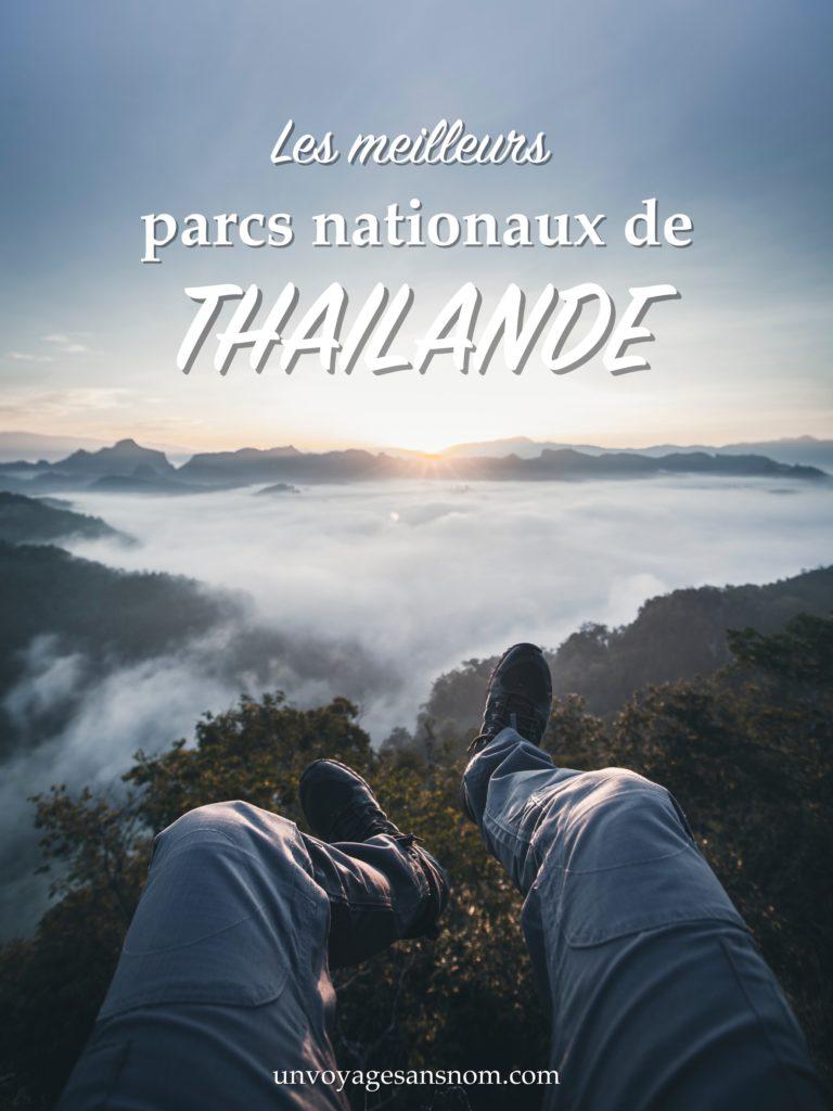que faire en thaïlande les parcs nationaux