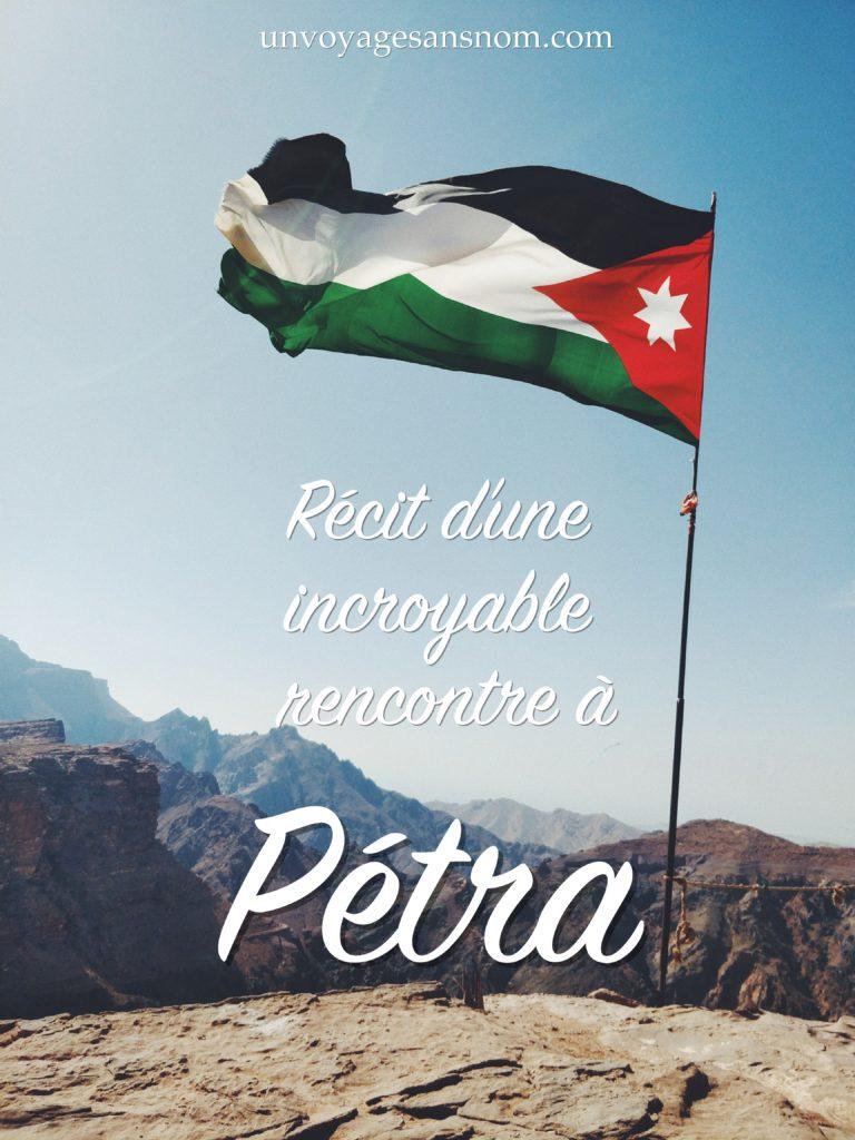 rencontre à pétra en jordanie