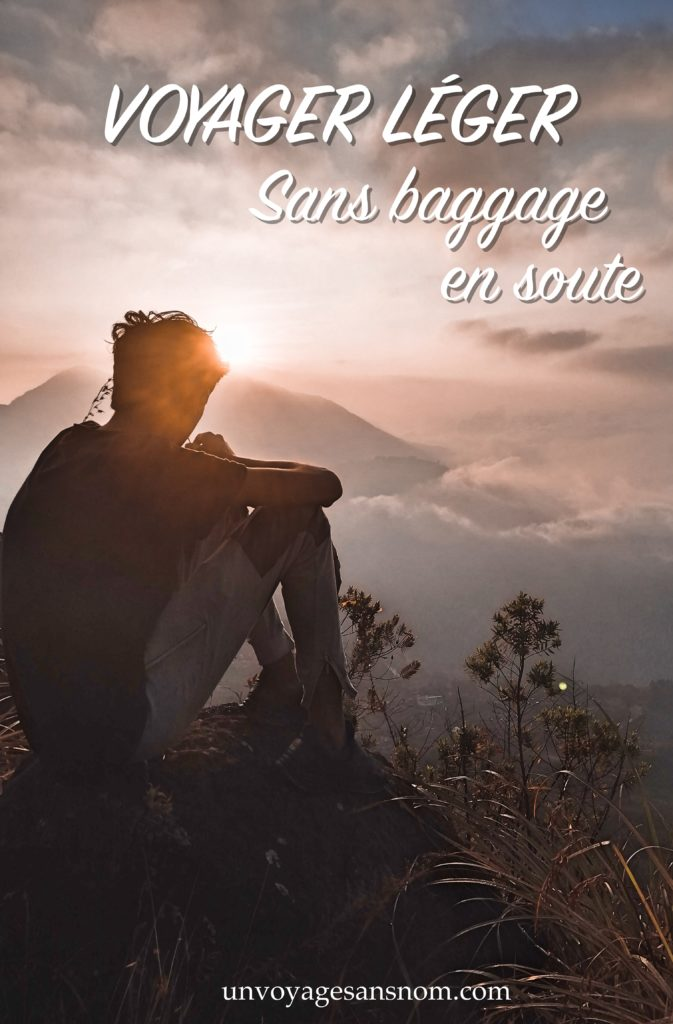 voyager léger sans baggage en soute
