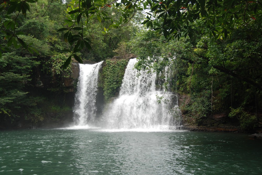 cascade à koh kood en thailande