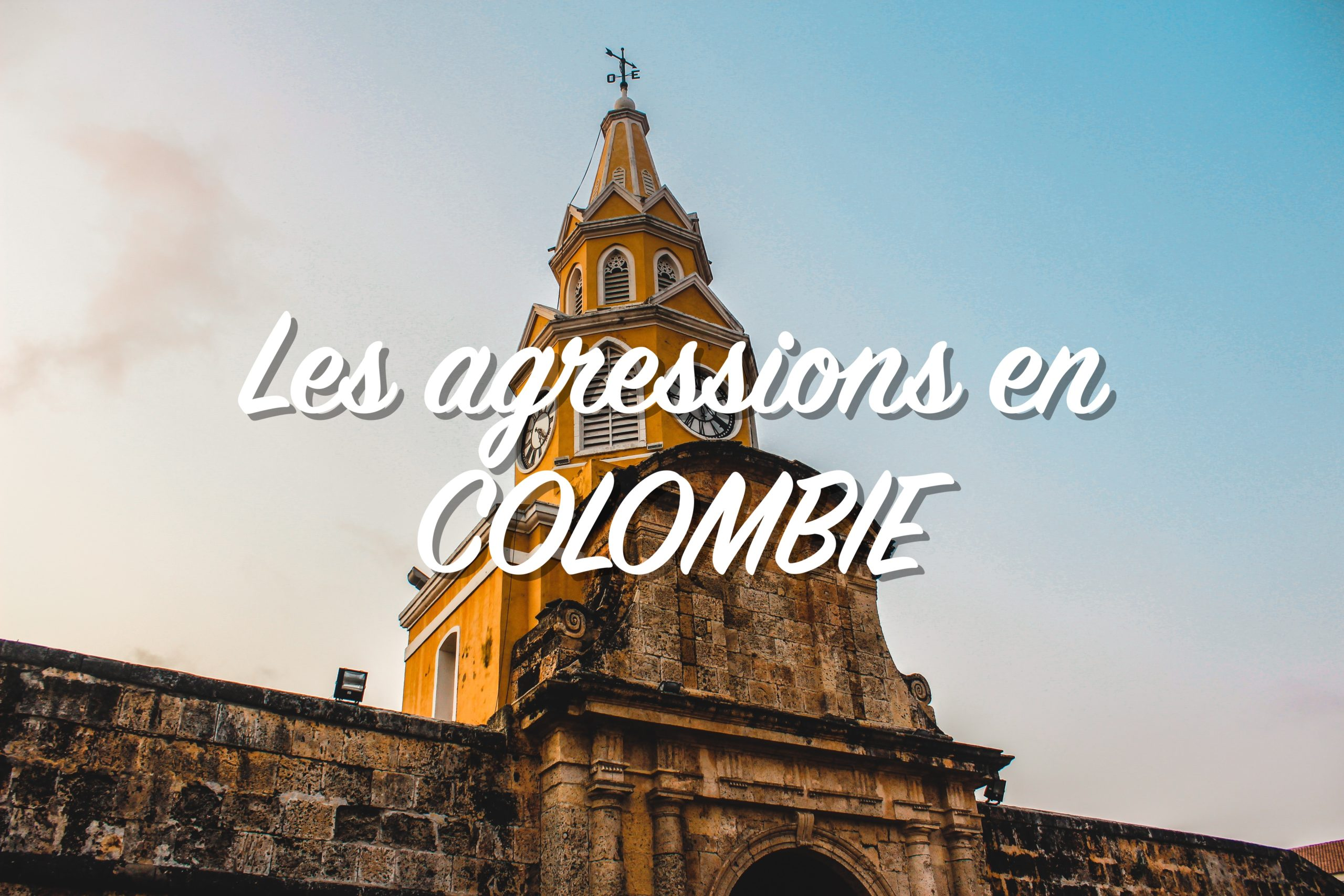 les agressions en colombie