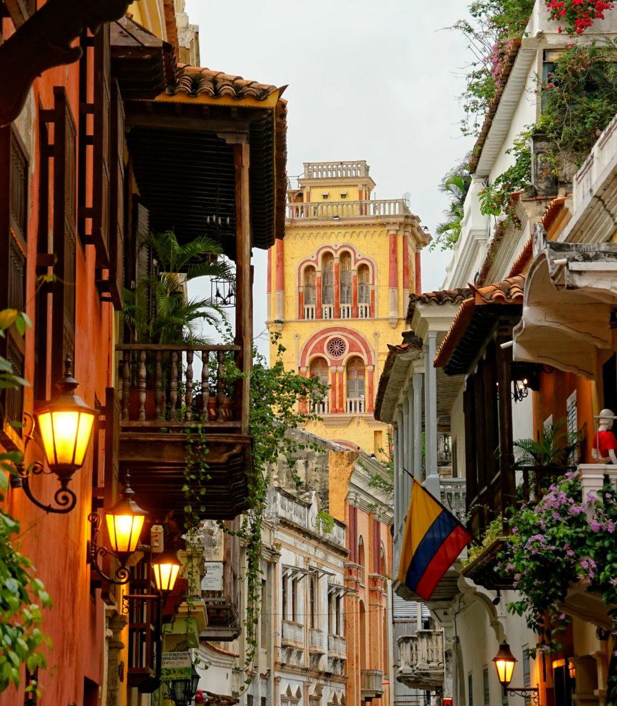 carthagène au nord de la colombie, ce magnifique pays et cette ville incroyable !