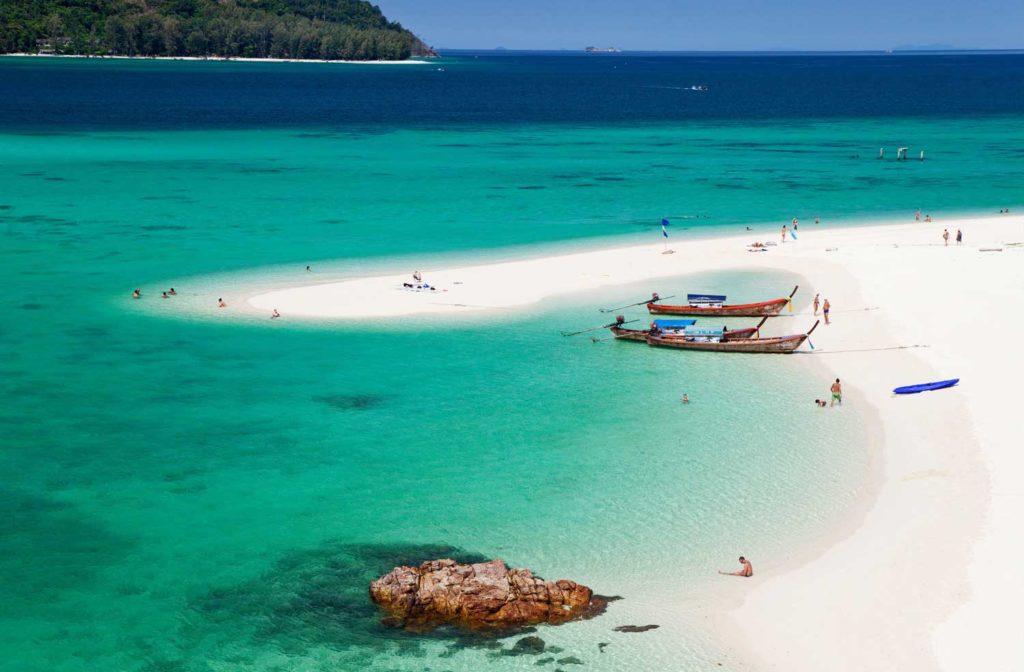 Voici l'une des plus belles plage de thailande sur l'une des plus belles iles de thailande.