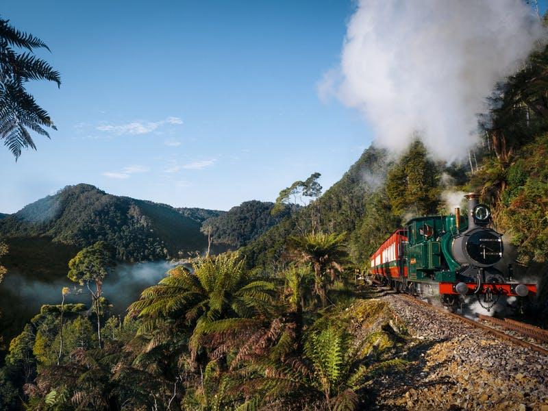 wilderness train in tasmania